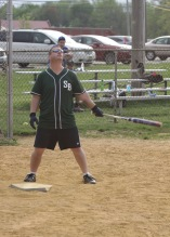 Jim Cosgrove may be praying for a win before his first at-bat.
